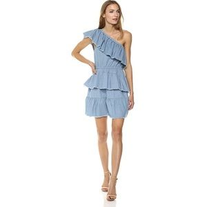 Mink Pink Ruff Stuff Denim Dress NWT!